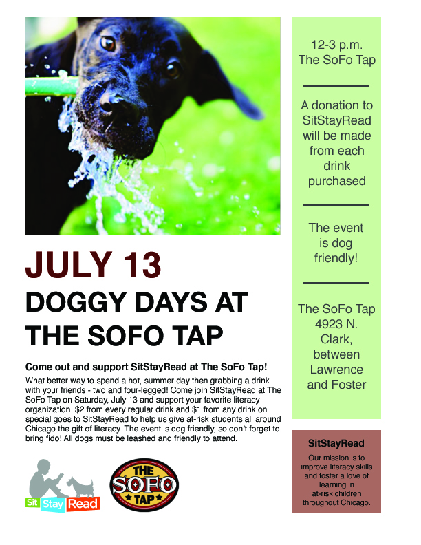 Doggy Days at SoFo Tap