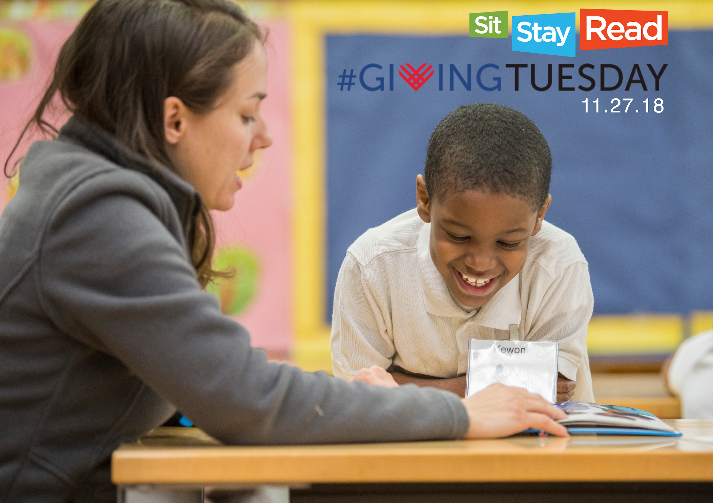 #GIVINGTUESDAY GOAL - Last year's #GivingTuesday was our largest yet, reaching over $2,600 in donations!This year, we hope to raise $3,500, which could supply Summer Reading Fun Packs to over 75 students!
