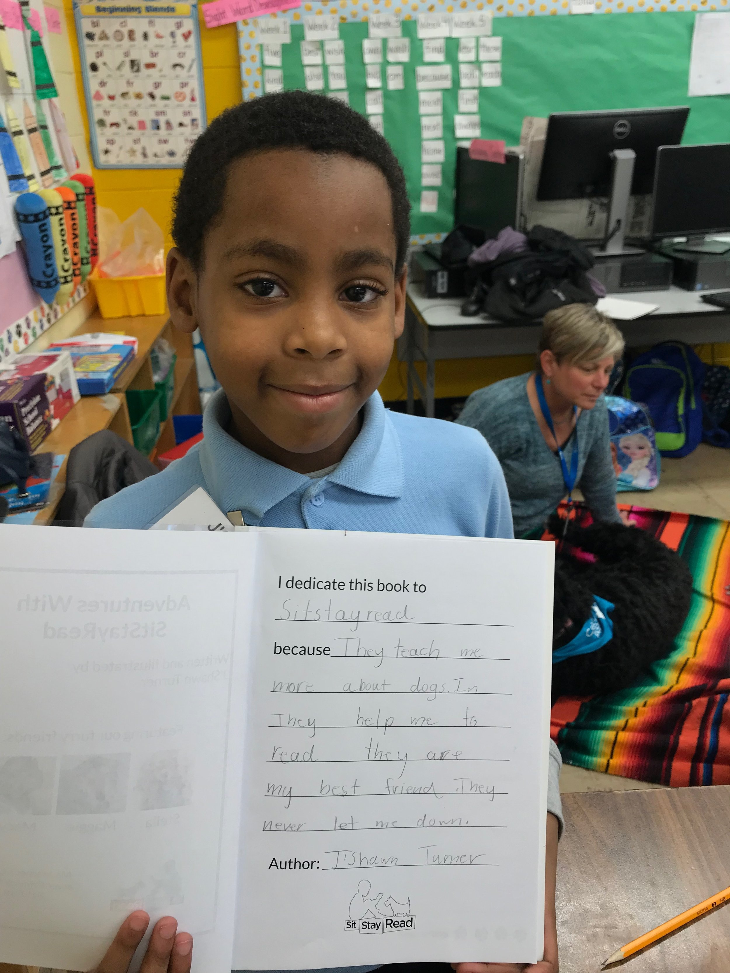J'Shawn - Second grader at Carver School in Altgeld Gardens.