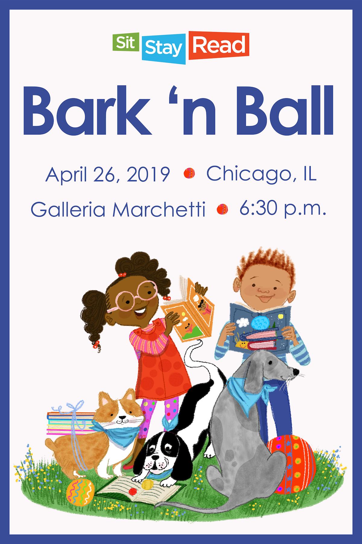 2019 Bark 'n Ball Poster
