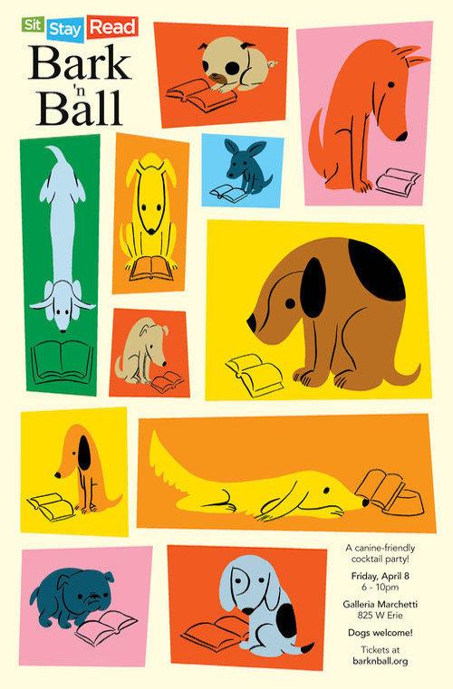 2016 Bark 'n Ball Poster