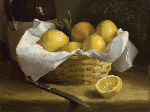 Basket of Lemon