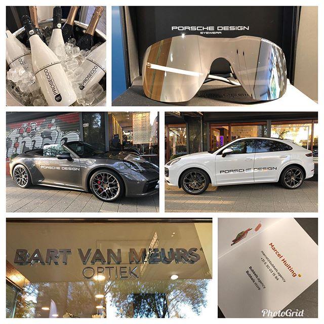 Porsche Design lifestyle event at Bart van Meurs optiek en optometrie @porschecentrumrotterdam010 @vanzuilenmode @wijpie @provisie @rodenstock_official
