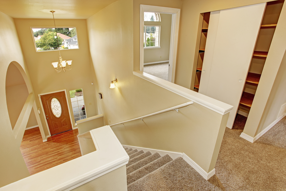 New Carpeting Laid in Hallway, Bedrooms, and Stairs (Medium Size).jpg