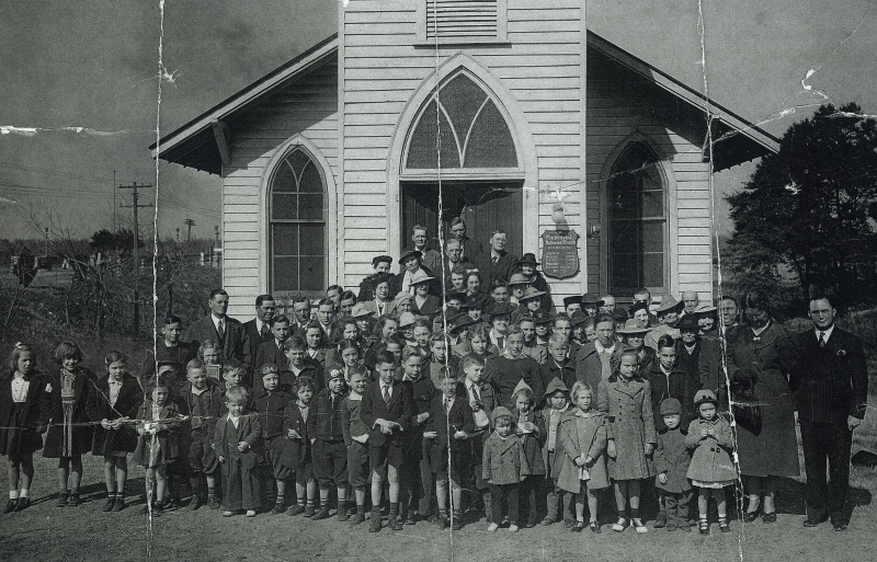 Original Wilmington First Pentecostal Holiness Church Congregation  Photo Courtesy First Pentecostal Holiness Church