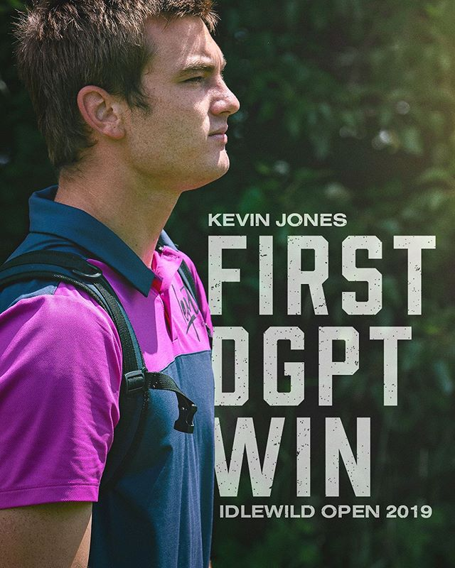 Congratulations to @kevin_jones116 on another huge milestone, landing his first @discgolfprotour win this weekend at the Idlewild Open! ••• #prodigydisc #kjusa #poweredbyprodigy #discgolfprotour #discgolf