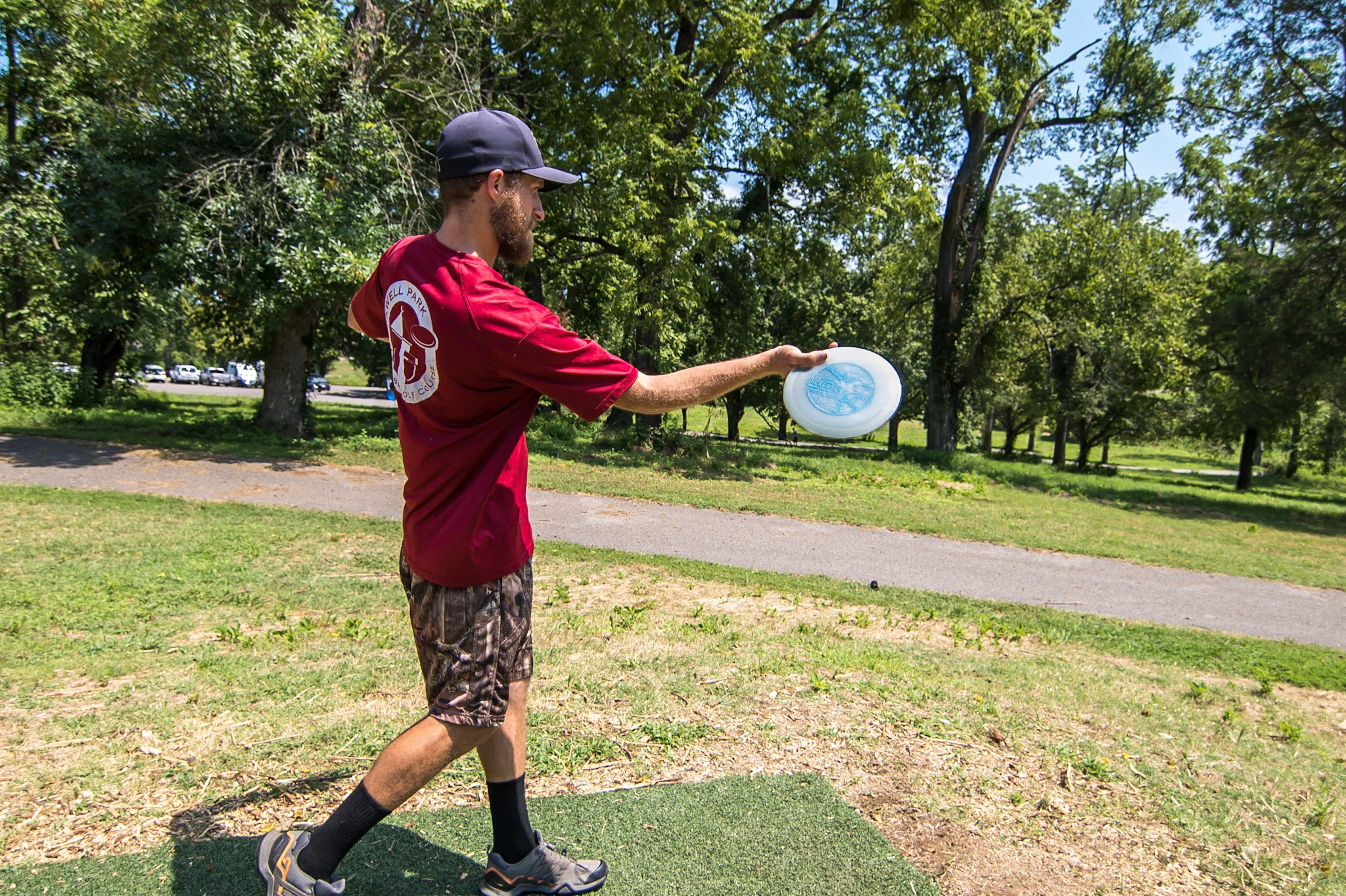 "A WORD FROM CHRIS - ""I like the 750 H3 V2 because it's a disc I can throw on a little bit of a hyzer and get it to fly straight. Being a straighter disc it is very workable and easy to manipulate depending on the angle you put it on. As far as the stamp, it's just something that kinda stuck. I kept hearing"