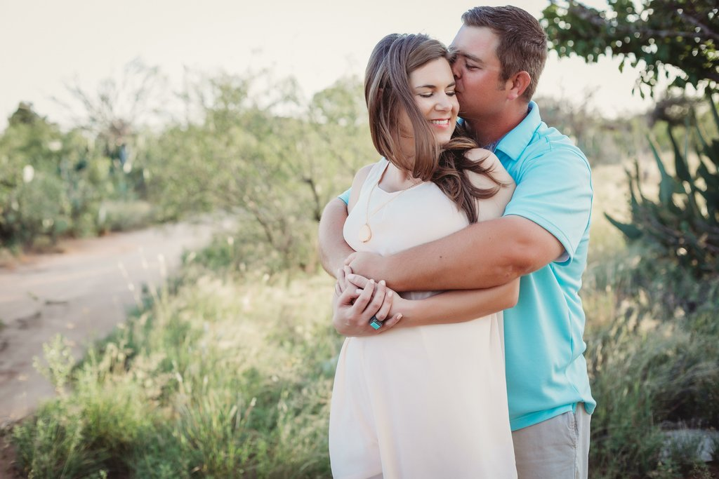 Midland Texas Sunset Couples Session