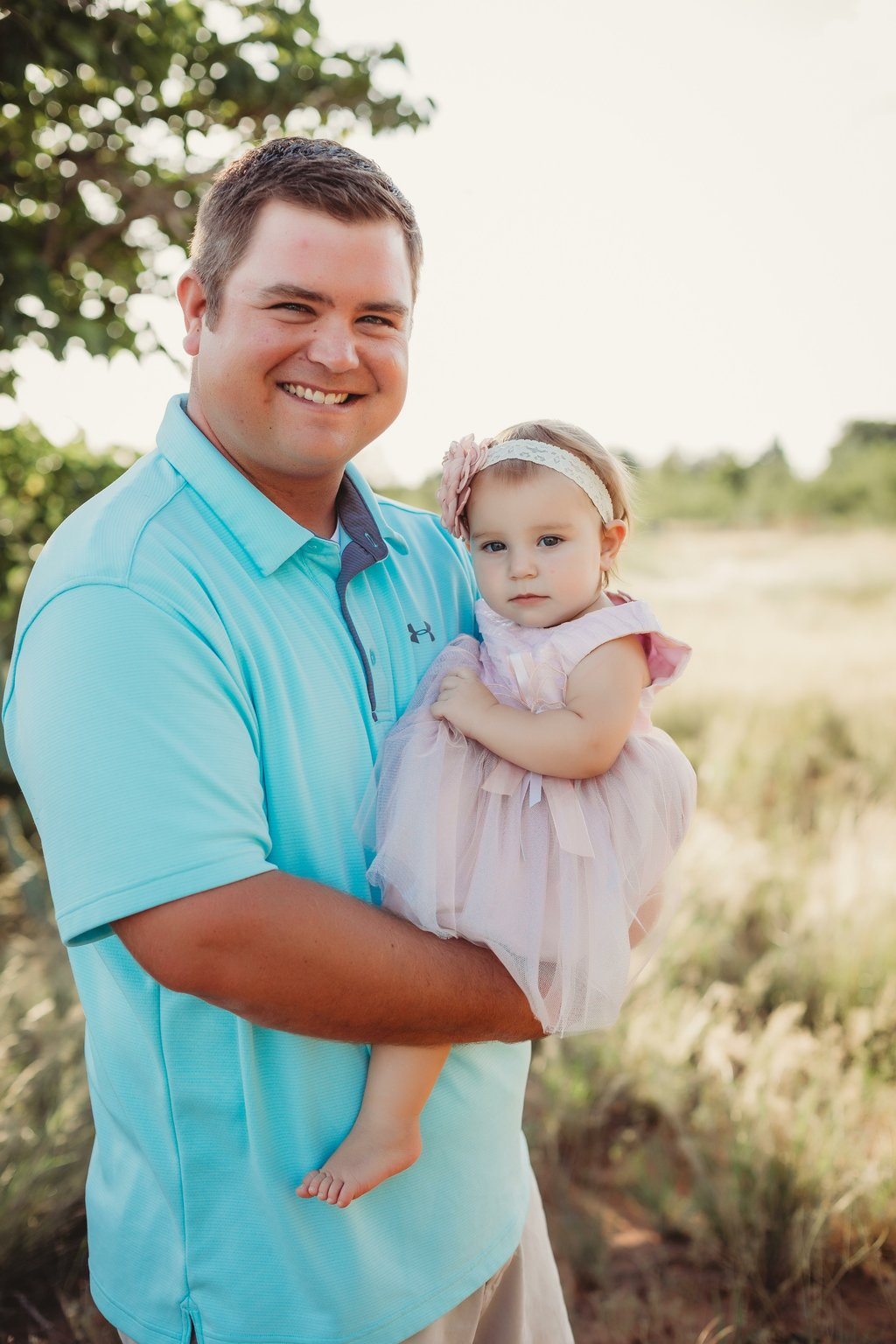 Odessa Texas family photographer daddy and me session