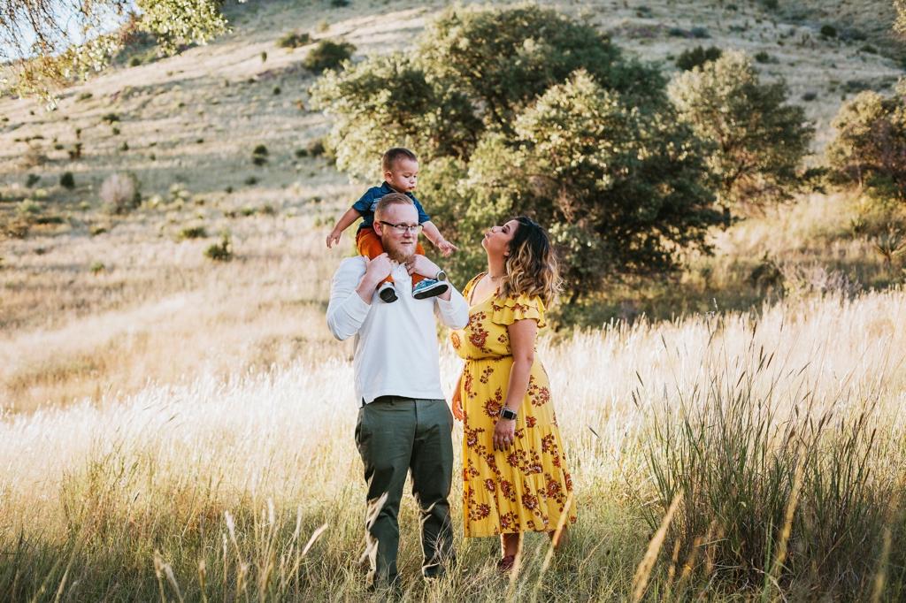 outdoor family photographer midland texas
