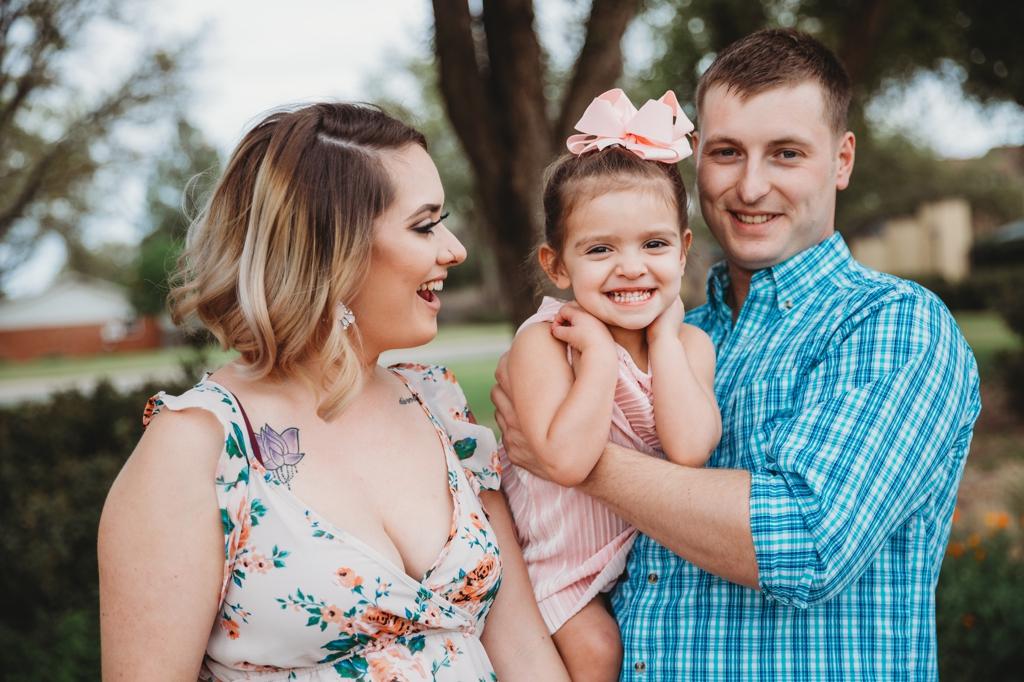 Family photographer session Midland texas