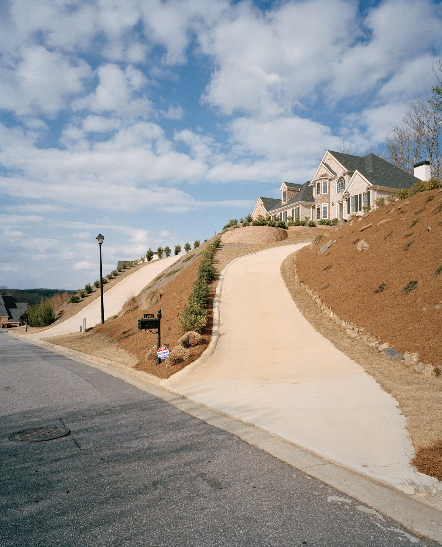 Steep Driveways, Suwanee, GA. 2009