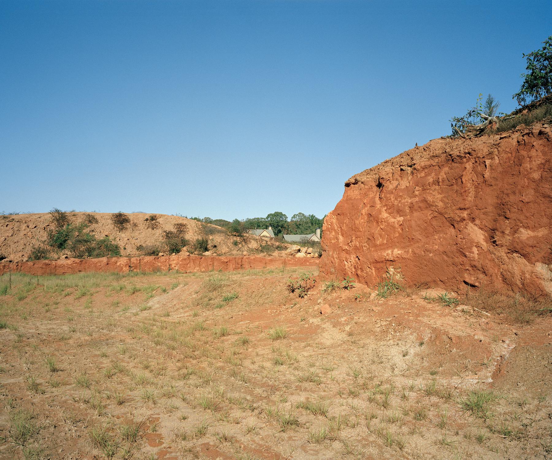 Construction Mounds, Athens, GA. 2009