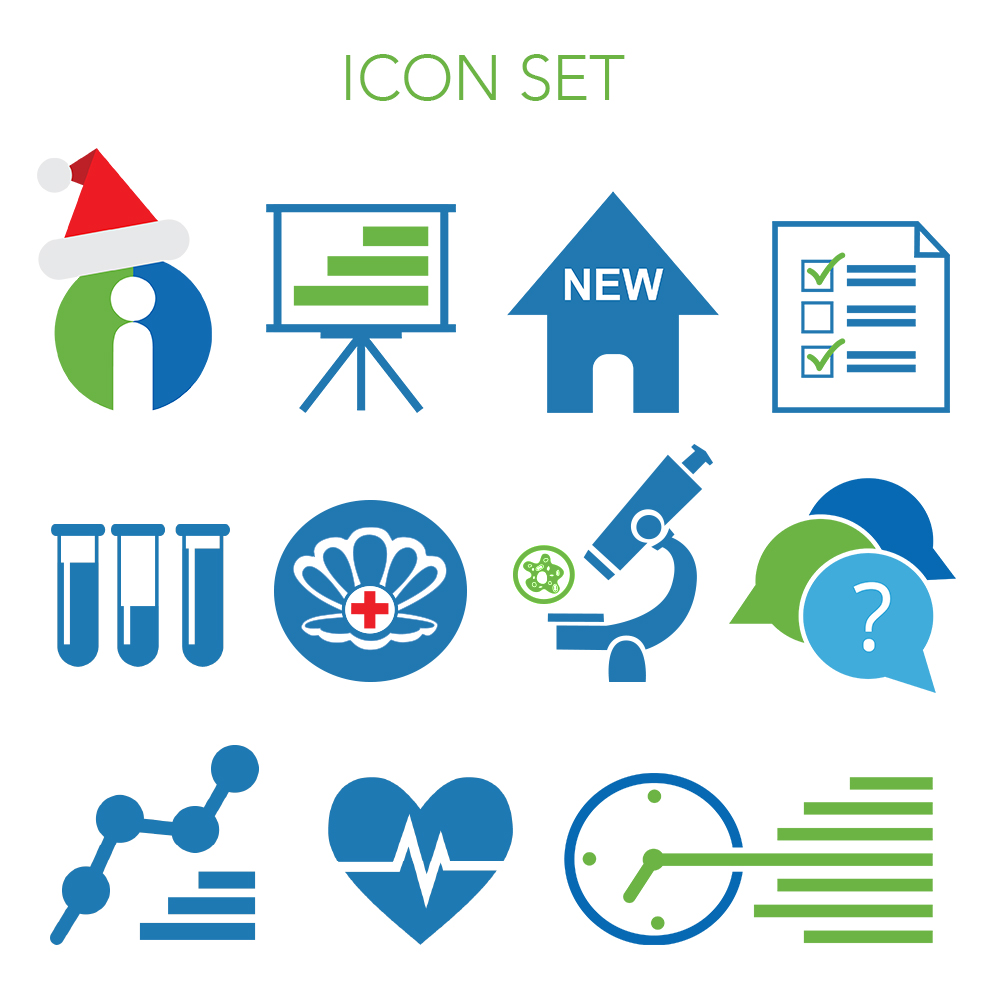 IHP icon set for miscellaneous marketing materials