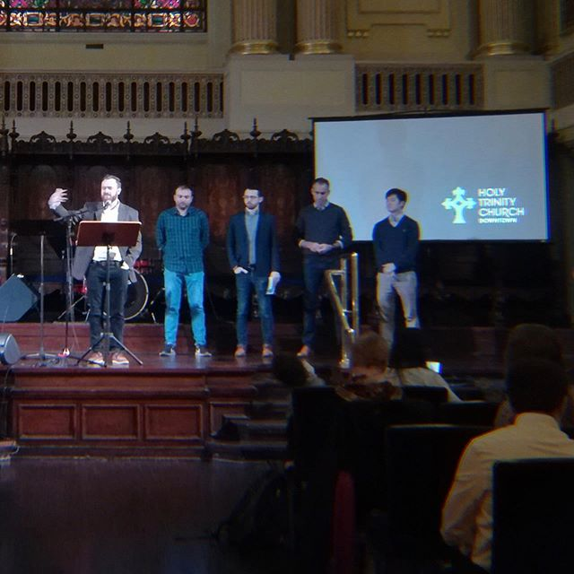 We are so thankful for the new elders and deacons and the chance to install them last Sunday! May the Lord work through these men and women to bring his kingdom on earth as it is in heaven. #htcchicago