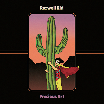 Rozwell Kid will release 'Precious Art' on June 23. (Side One Dummy)