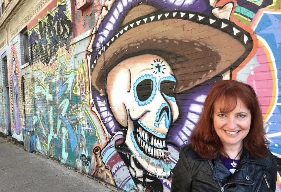 Allison Jornlin also runs the first ever haunted tour in Milwaukee. (Hand out)