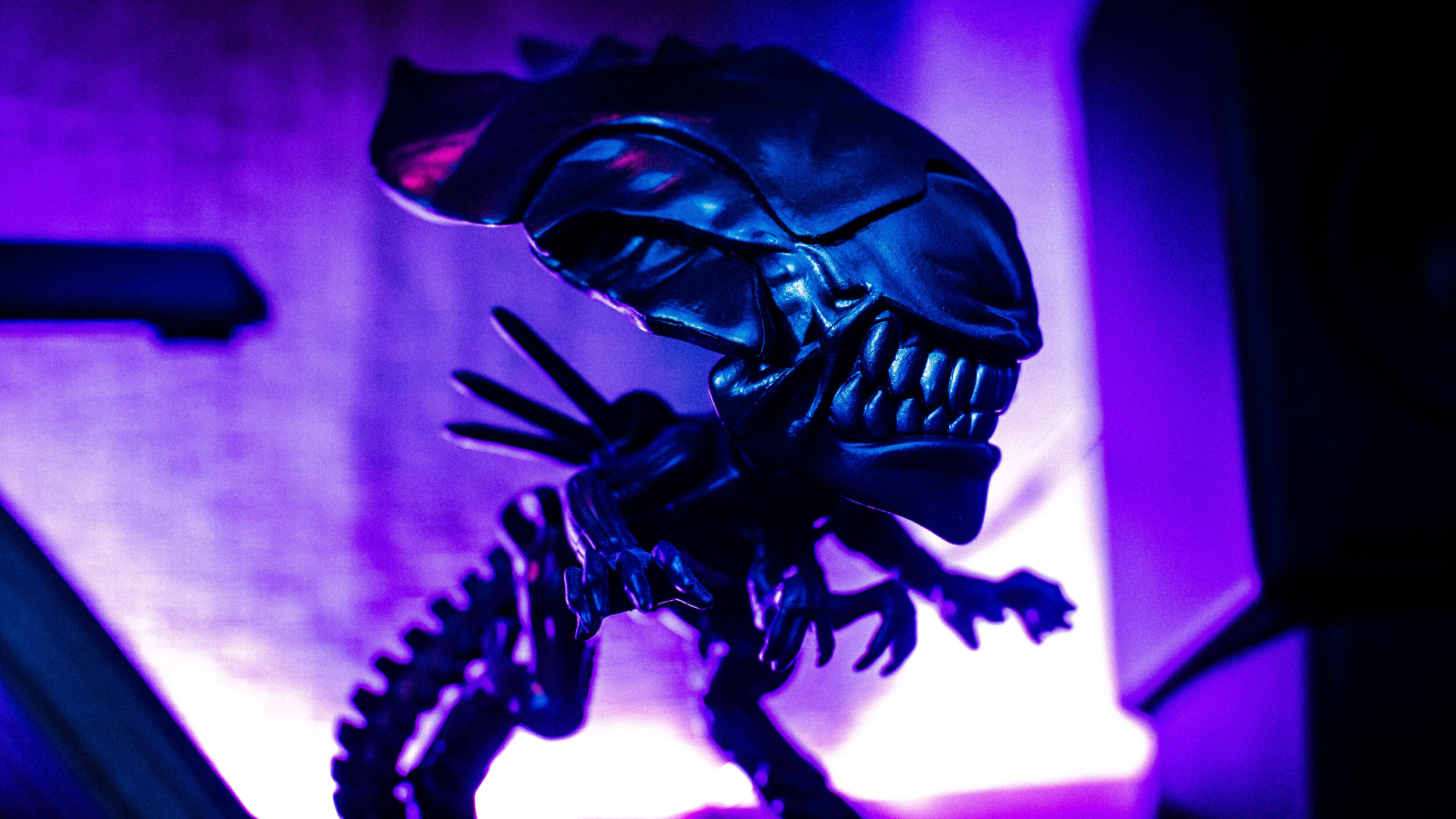 "The ""Alien"" franchise depicts a predatory species. (Handout-Diego Martin)"