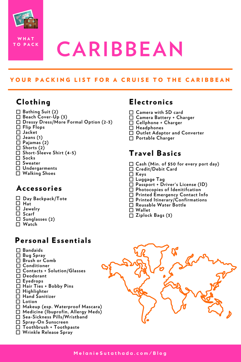 Melanie Sutrathada shares her ultimate packing list for a cruise to the Caribbean..png