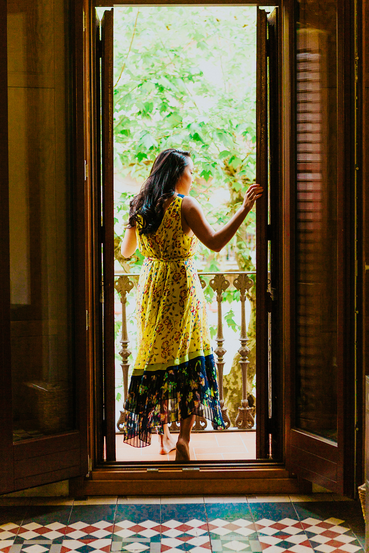 Melanie Sutrathada shares her favorite yellow dresses to rock this spring and summer whether you're traveling to Spain or not..jpg