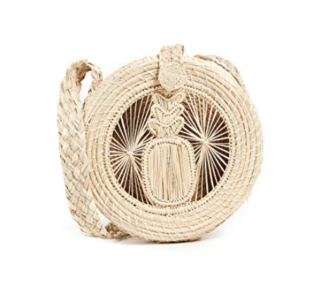 Kaanas Akumal Woven Circle Crossbody Bag.png