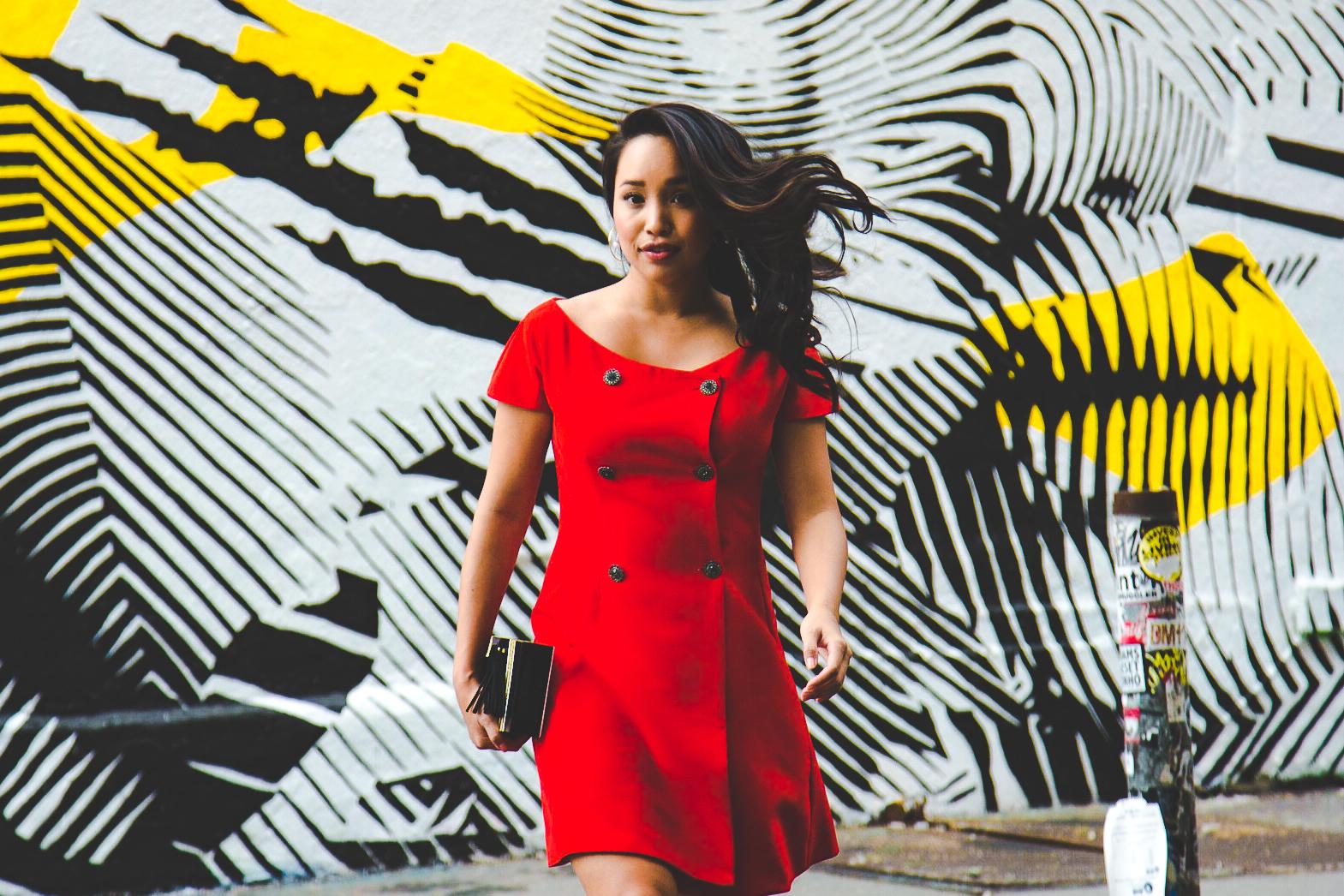 Melanie Sutrathada shares her latest style snap wearing Dan Liu..jpg