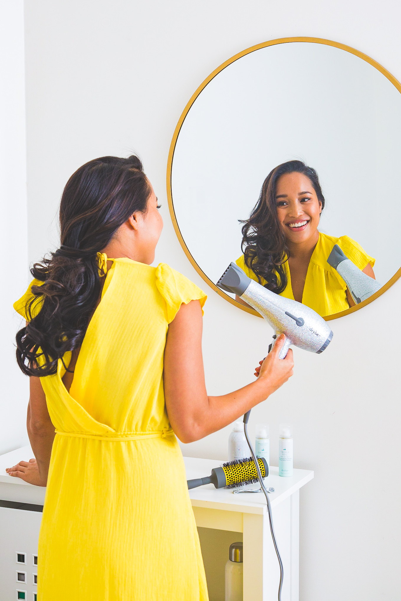Melanie Sutrathada shares her favorite ways to keep your hair soft and shiny this winter..jpg