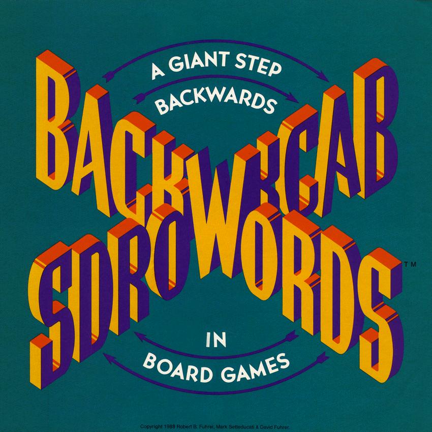 Backwords Board Game