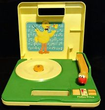 Sesame Street Phonograph