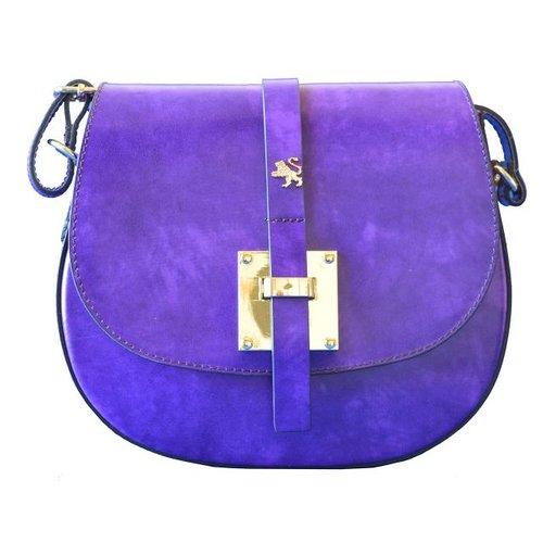 a44988db9e3e8 Pratesi Pelago Italian Purple Leather Saddle Bag Style - Bags & ...