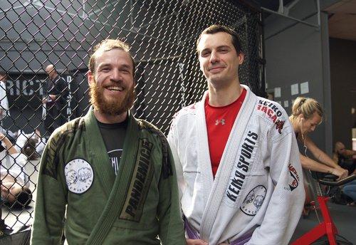 Jérémie Benoliel and Adrien Baudassé, founders of Clean Hugs
