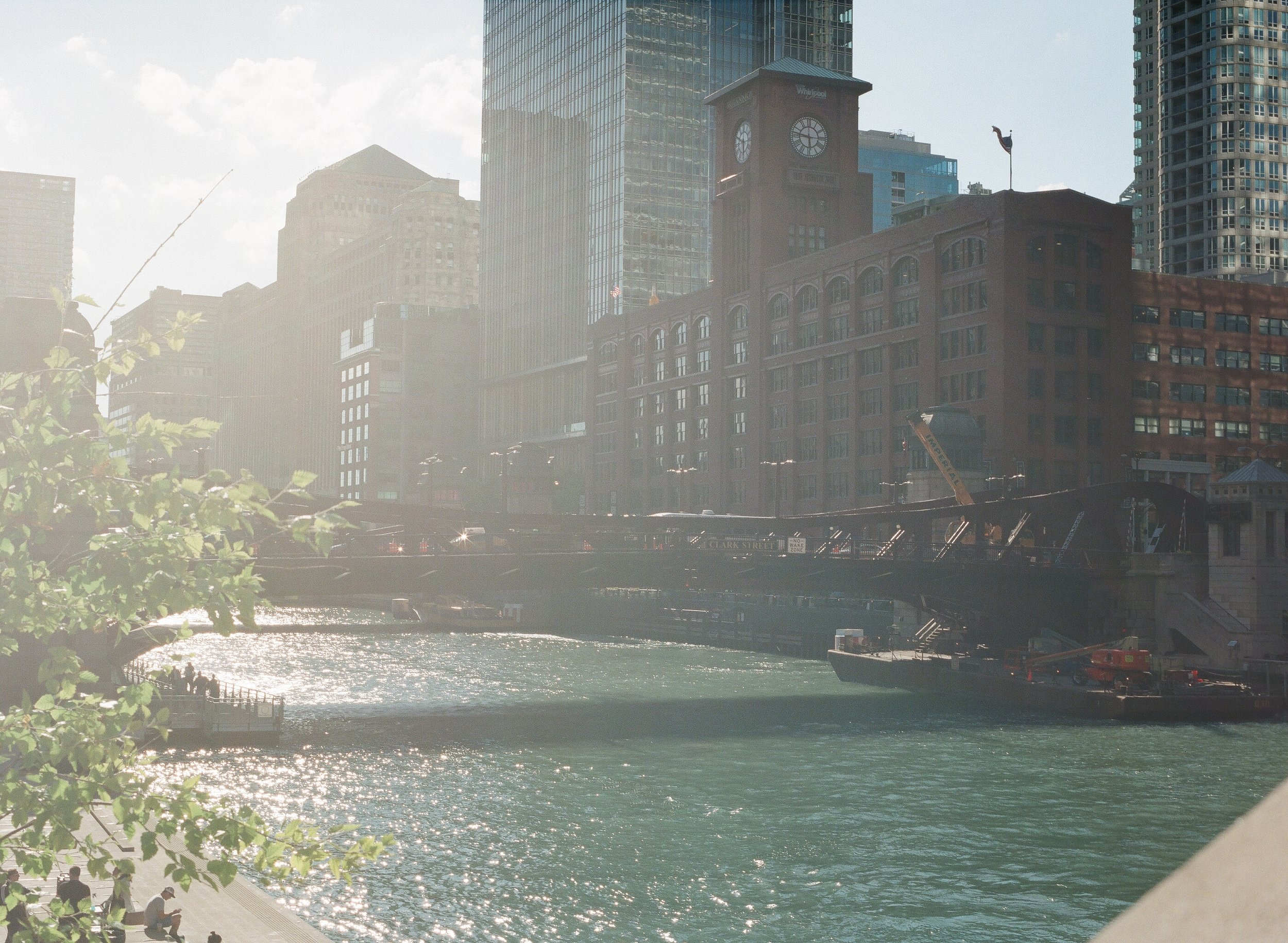 Chicago. River