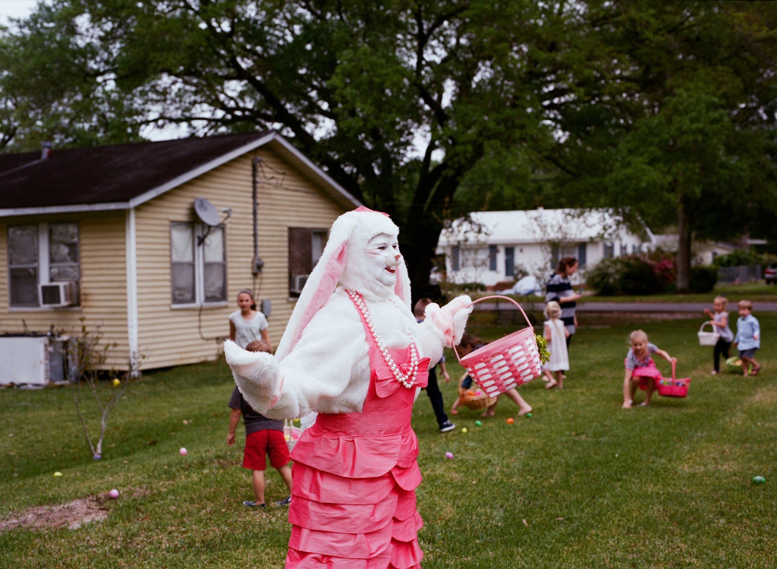 Easter Bunny in Kaplan