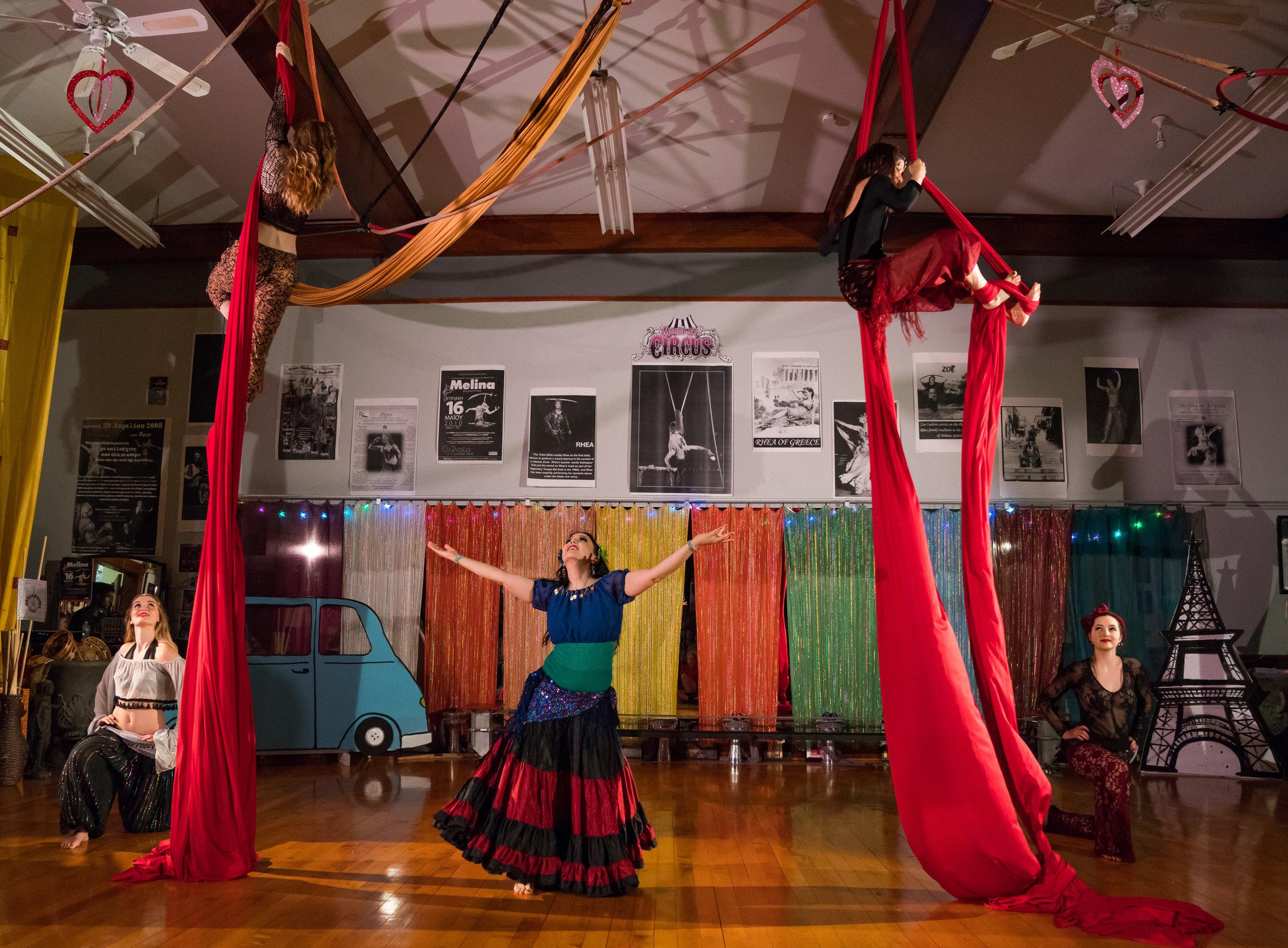 Moody Street Circus Company, photo: Bruce Mount