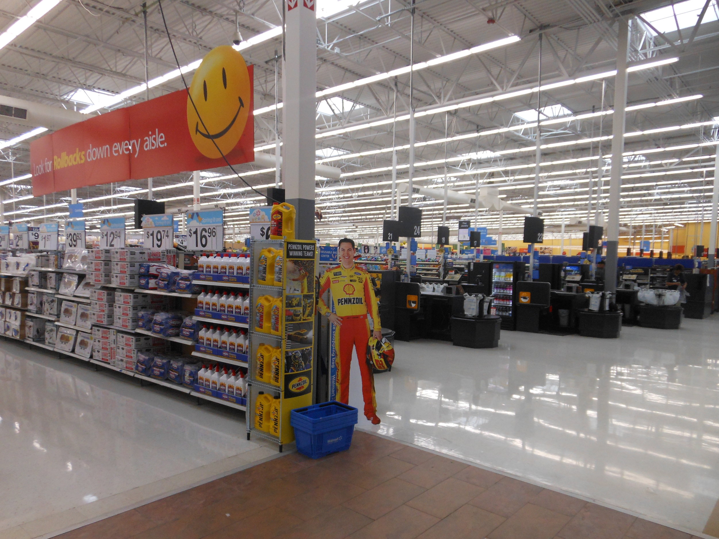 Store #3201 Joey Logano Entry Way