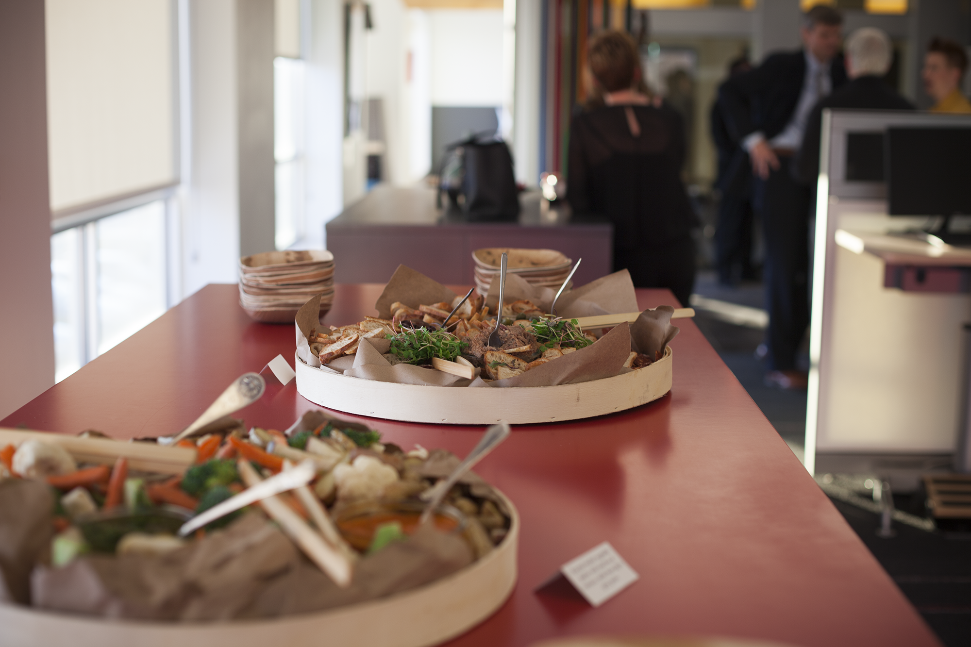 Self-Service Platters - Prices below serve 50 guests; Compostable serviceware available; Delivery available