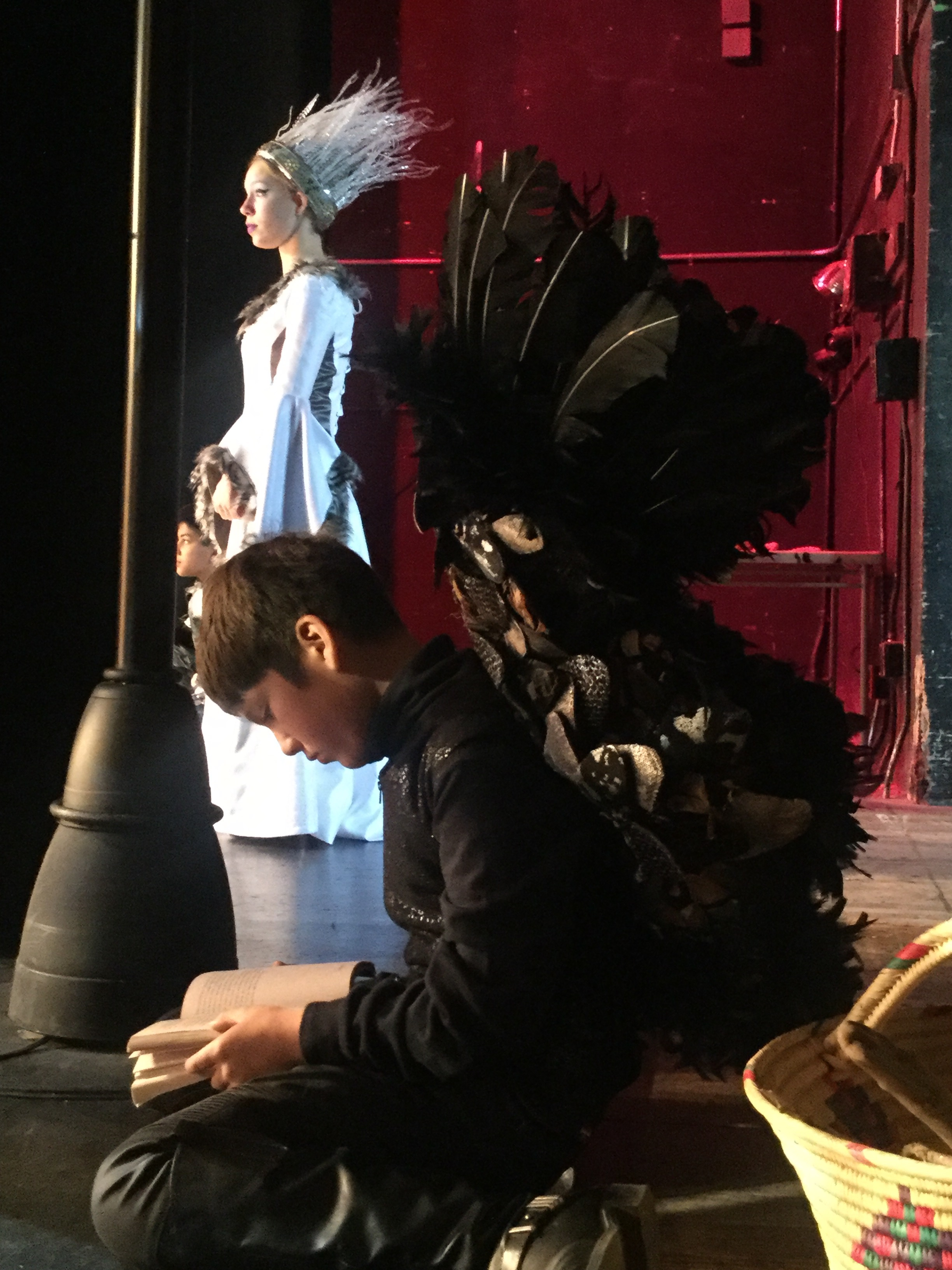 White witch and Gryphon in the Wings