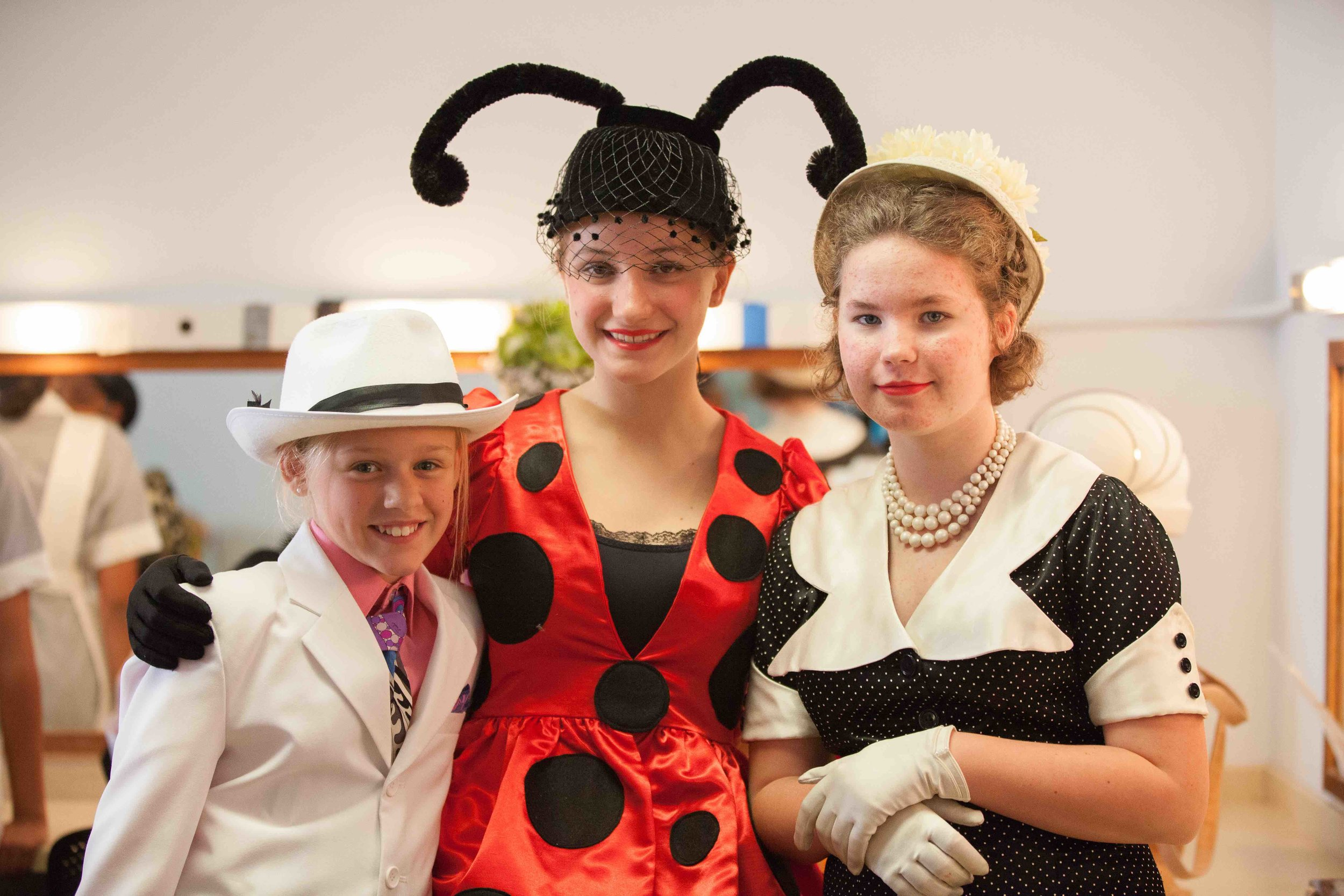 Ladybug and Townfolk