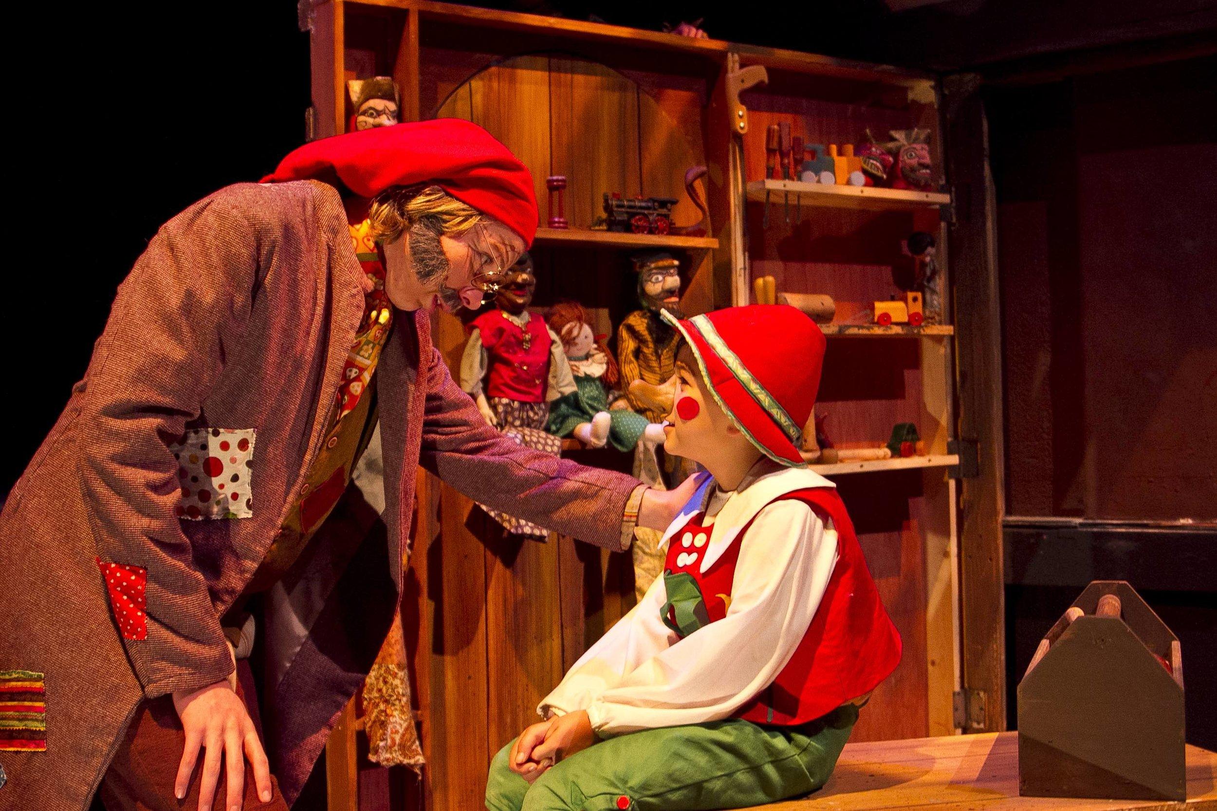 Giuseppe and Pinocchio