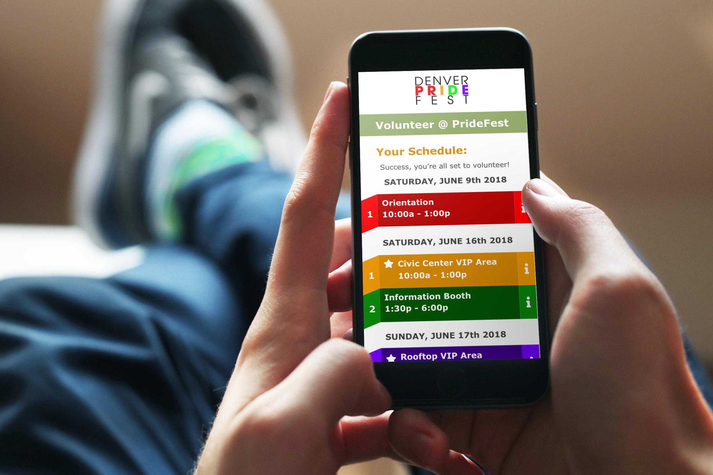 Denver PrideFest 2019 - Quick & easy sign-up to volunteer at Denver PrideFest 2019.