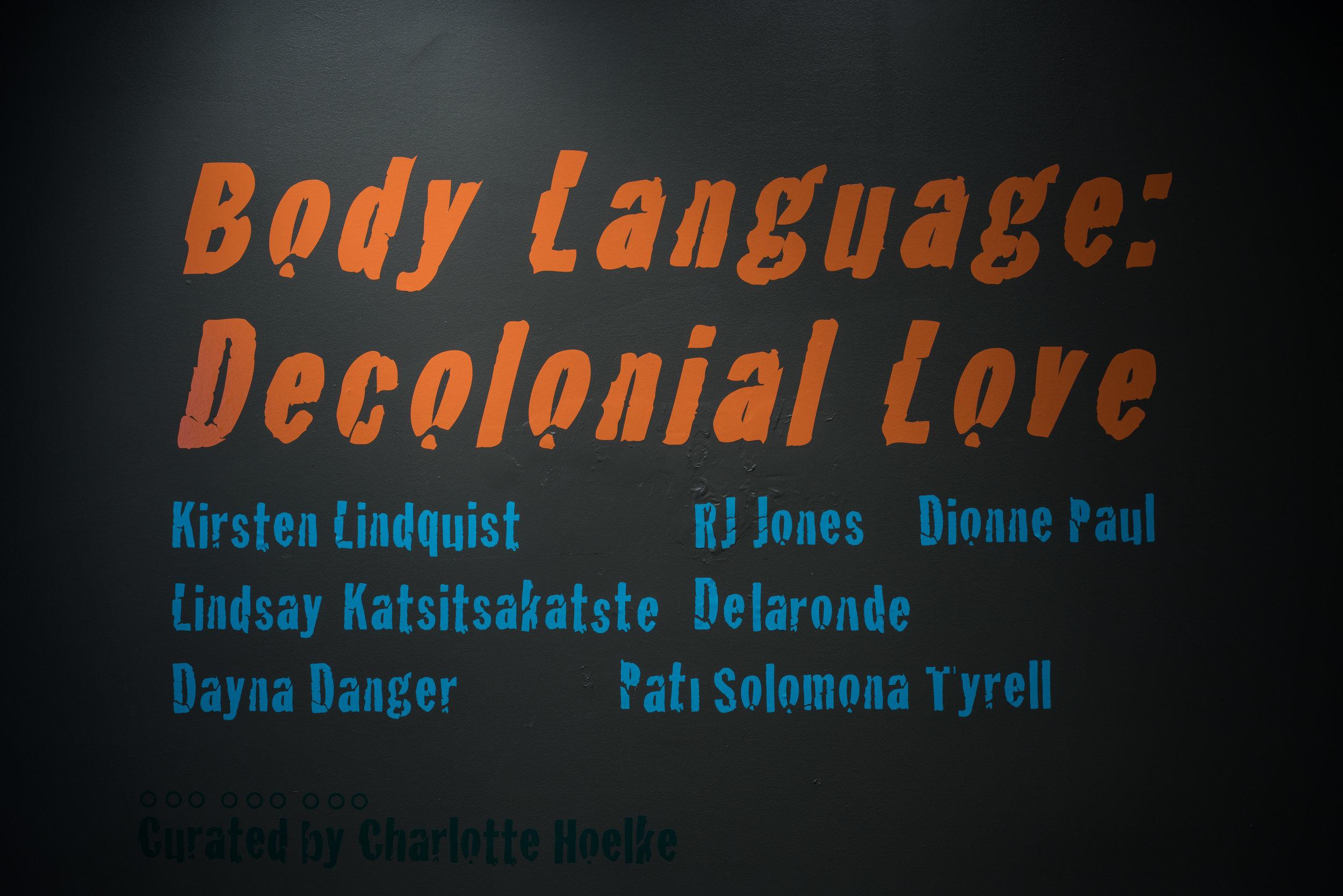 Body Language: Decolonial Love