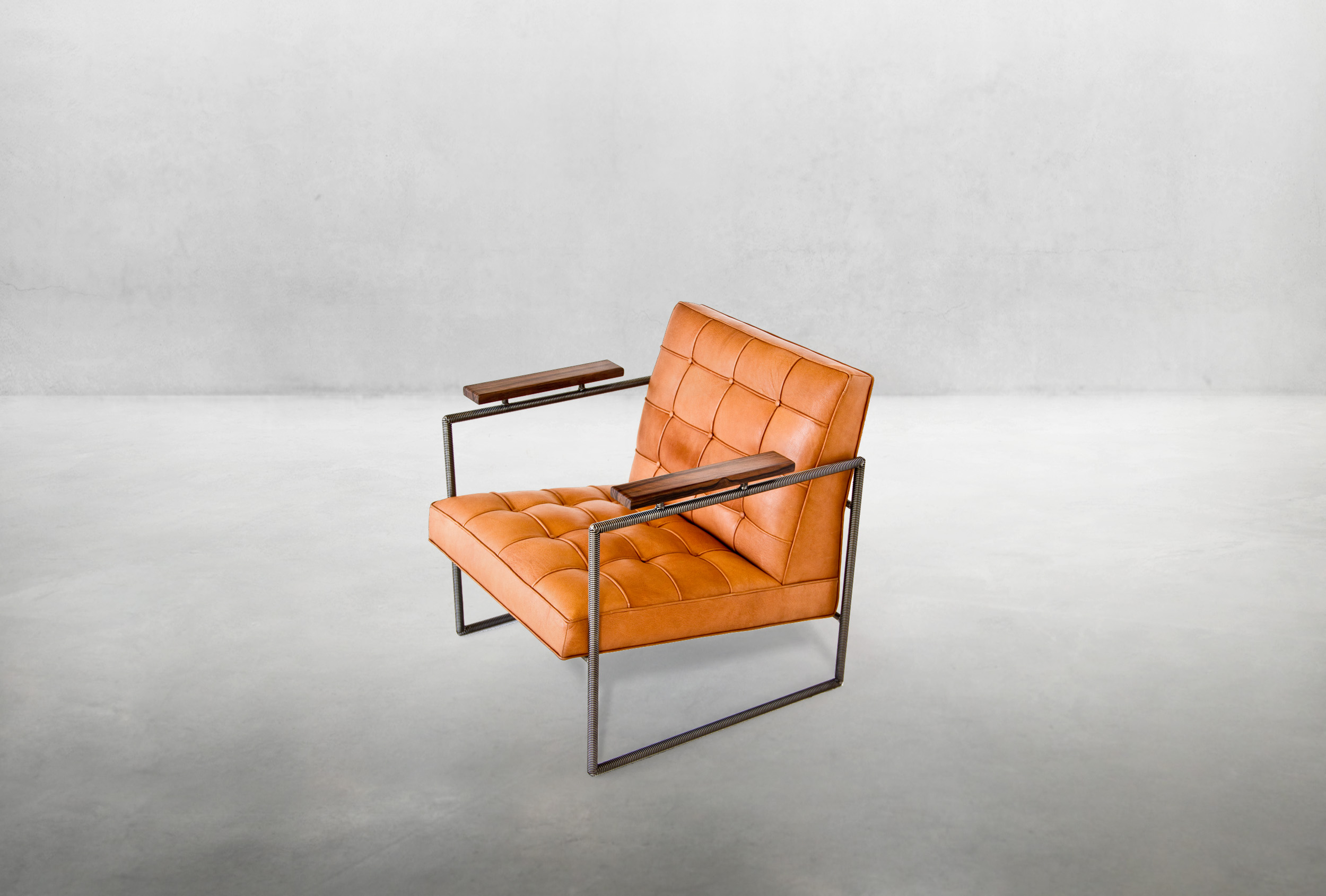 1935 Chair Brown Leather richard velloso olga guanabara title.jpg