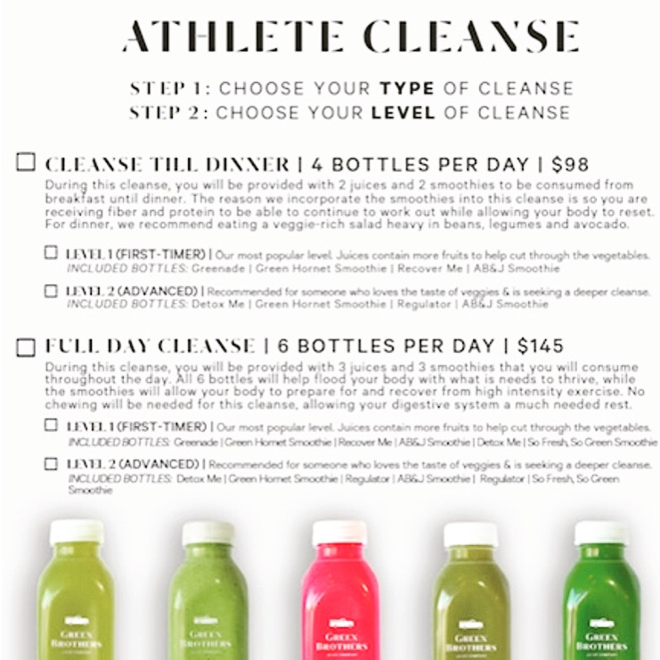 What is it? - 3 days of cleansing that incorporates both juices AND smoothies into a cleanse.