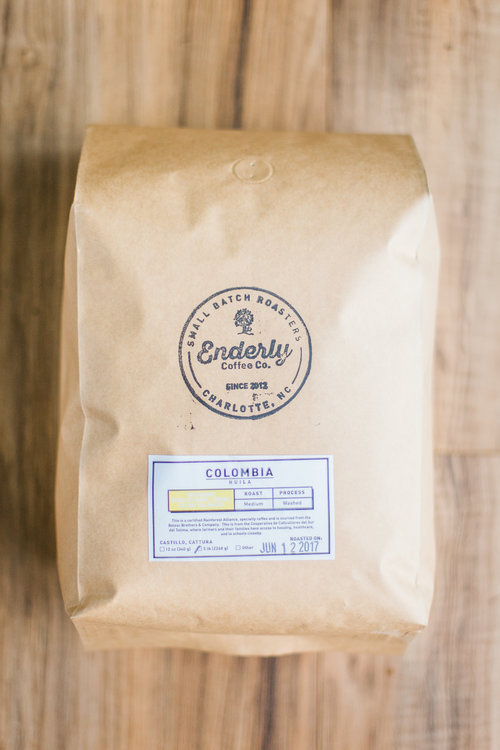 We use local coffee company Enderly Coffee in all of our coffee smoothies and bowls. Be sure to check them out!  Click the picture to go to their website.