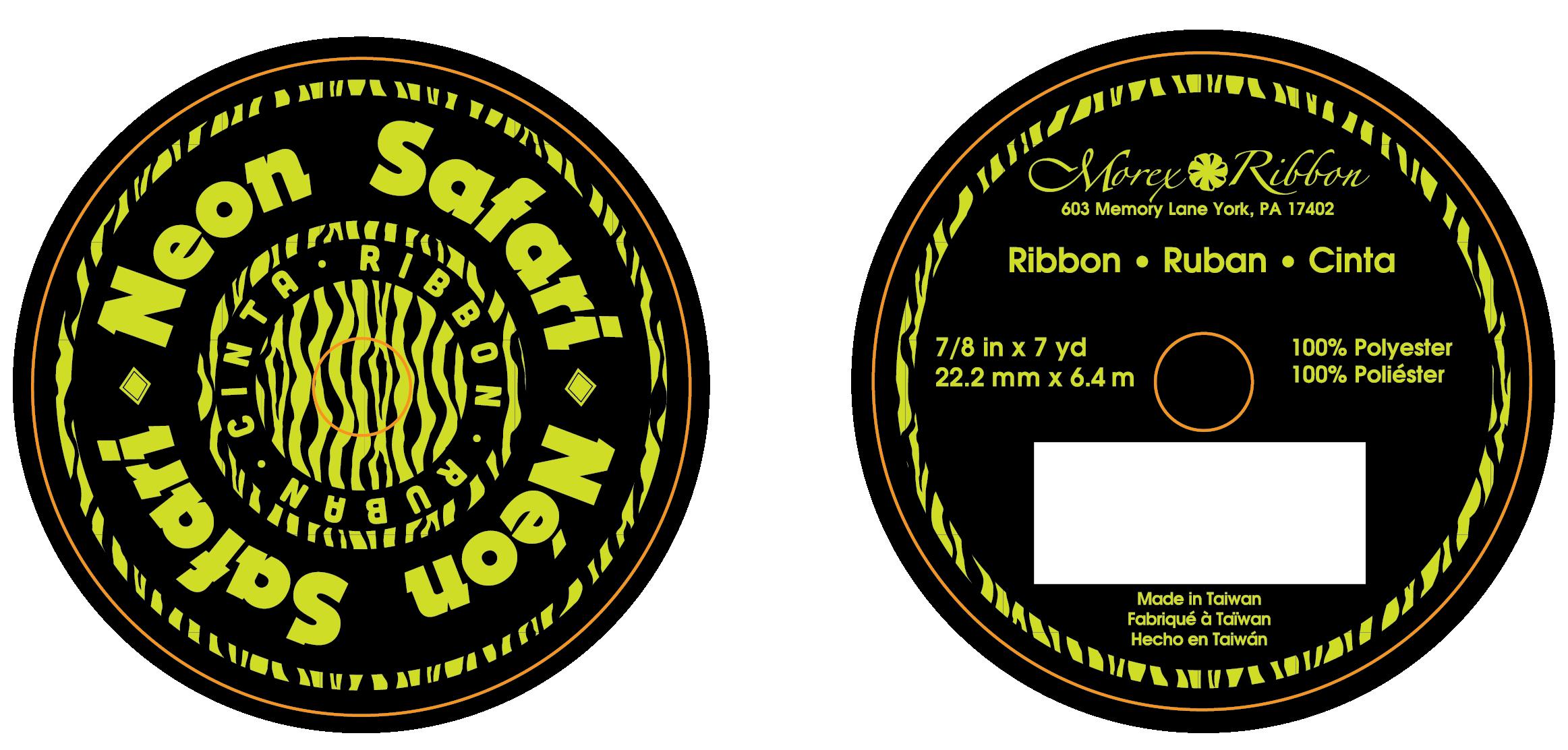 Neon Ribbon Flange Design