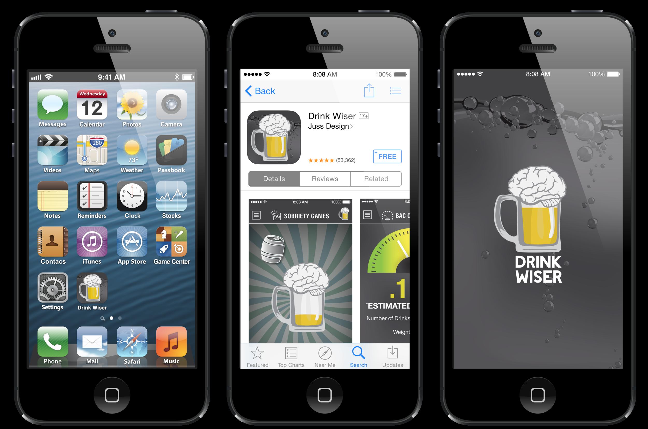 App Icon, App Download Page, Splash Screen