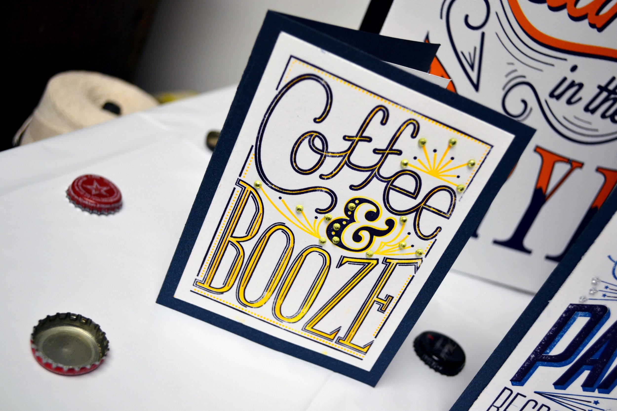 Coffee & Booze Card