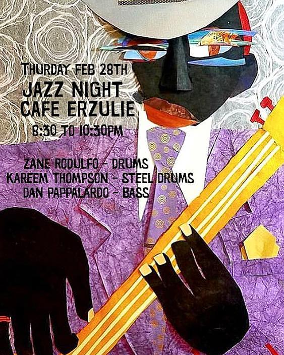 🎺🎷JAZZ NIGHT 🎷🎺 WE'LL BE SERVING FOOD AND DRINKS THROUGHOUT THE PERFORMANCE. PULL UP AND ENJOY!!