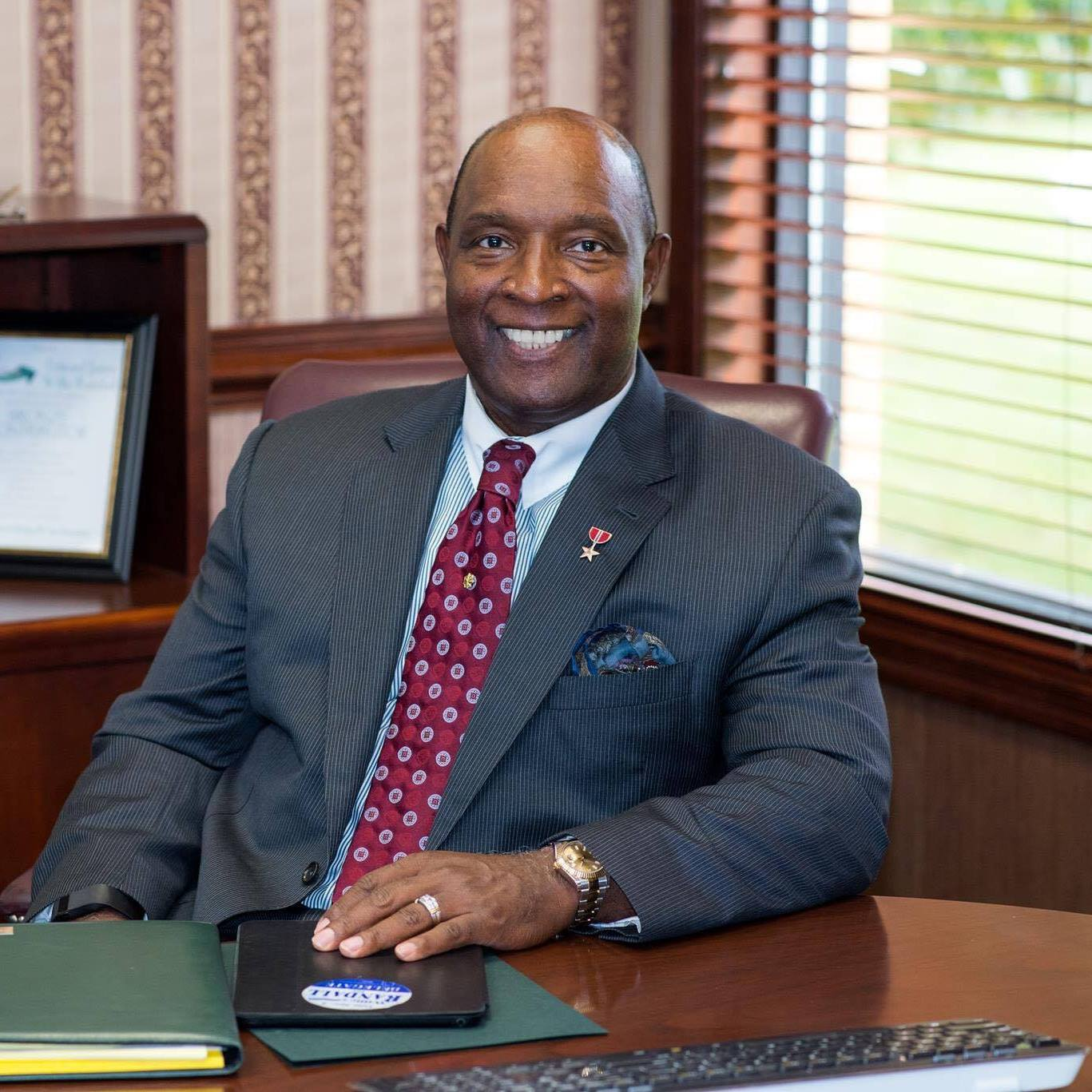 WILLIE RANDALL - Meet the candidate: Willie RandallWillie served in the United States Army for over 20 years, and served on the Northampton County Board of Supervisors for 4 years. He has also served on the Virginia State University Board of Visitors as the Vice Rector, Riverside Shore Memorial Hospital Board of Trustees, President of the Melfa Rotary Club and is currently a member of the Onancock Rotary Club. He was a commissioner the Accomack/Northampton Planning and Transportation Commissions, President of the Eastern Shore United Way, and chairman of the board of the Eastern Shore Chamber of Commerce, President of Cape Charles Accomac Alumni Chapter of Kappa Alpha Psi to name just a few of the community organizations he's worked with over the years.Upon graduating from Virginia State University, he was commissioned as a second lieutenant in the United States Army, serving in the Persian Gulf War. He was awarded the Bronze Star Medal for service in a combat zone and retired as a Major in 1996. He and his wife Shirley, an anesthesiologist and Pain Management Physician, moved to Virginia's Eastern Shore upon his retirement from the United States Army. They have one son, Xavier, and a grandson Ashton.House District 100:Secretary Clinton won this district by 2 percent of the vote. The 100th encompasses parts of Accomack County, Norfolk City, and Northampton County, and is currently represented by Rob Bloxom (R).Click here for more district details.Just one example of why Rob needs to go:Since arriving in the General Assembly in 2014, Rob has been ineffective. He has consistently introduced a meager number of bills each session; in 2014, Rob didn't introduce a single piece of legislation. Instead, he spends his time voting the party line on subjects concerning concealed handguns, prevailing wages, refugee resettlement, health care, and more. The 100th district's voters deserve better -- an active advocate for the issues that matter most to them.Contact the campaign: i