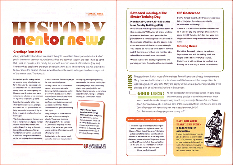 A4 Newsletter double-sided